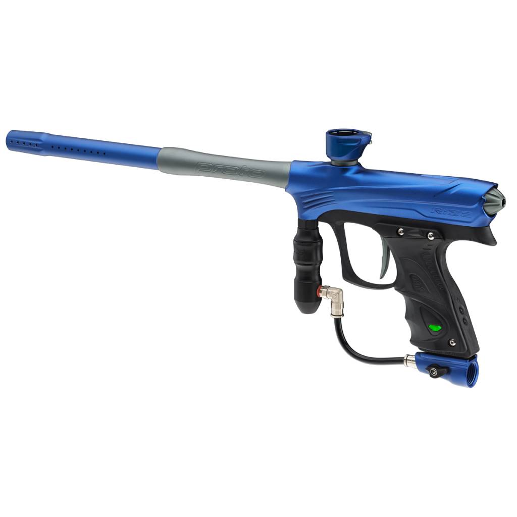 MARKER FOR PAINTBALL – RIZE MAXXED BLUE GRAY