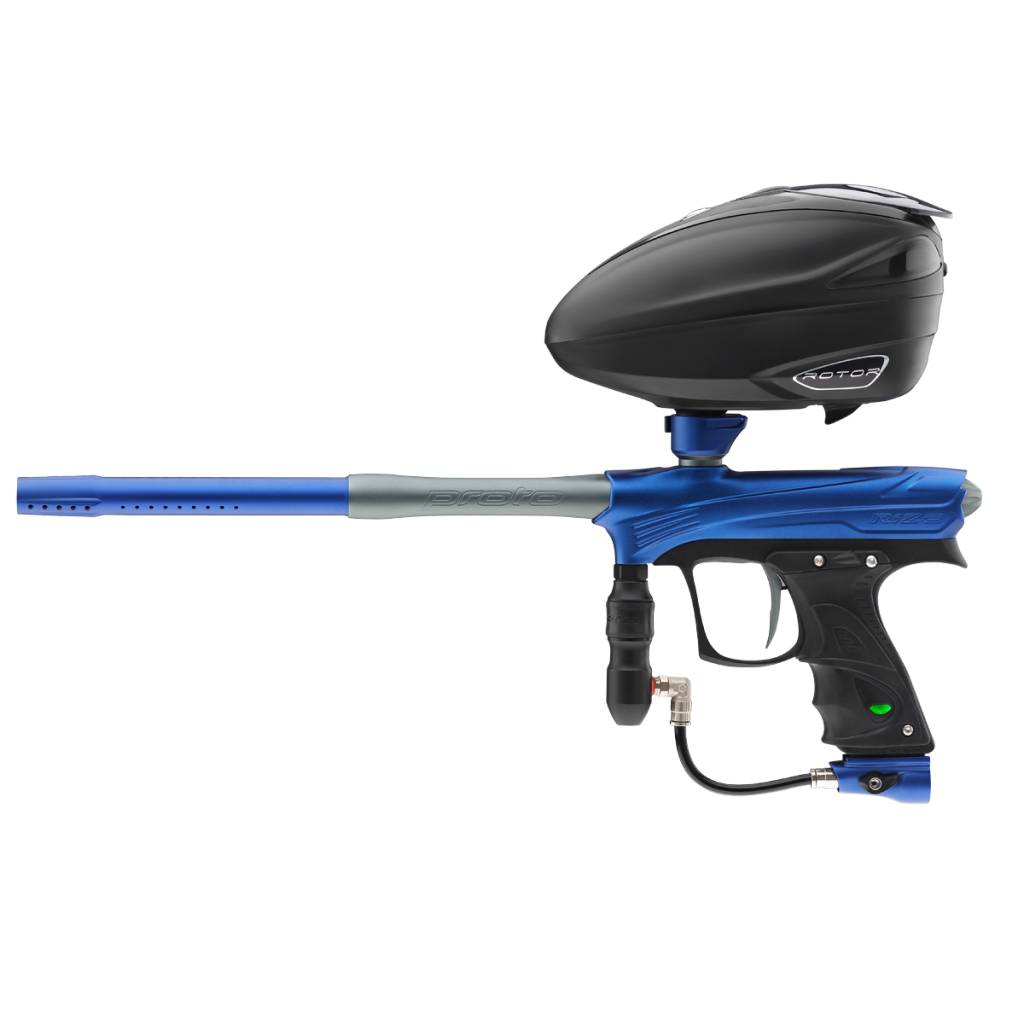 MARQUEUR POUR PAINTBALL – RIZE MAXXED Blue Grey