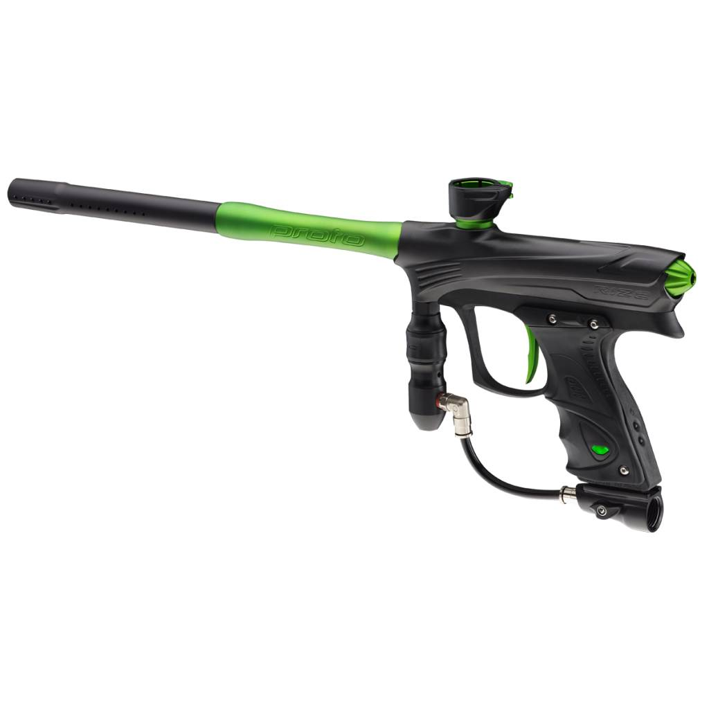 MARKER FOR PAINTBALL – RIZE MAXXED Black Lime