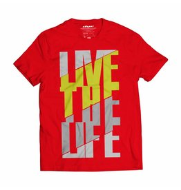 LIVE THE LIFE Red Yellow