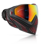 PAINTBALL GOGGLE - DYE i5 FIRE / GRAY RED