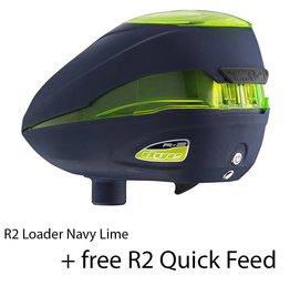 LOADER ROTOR R2 Navy Lime + FREE R2 QUICK FEED