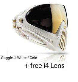 GOGGLE i4 White Gold + FREE i4 LENS