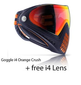 GOGGLE i4 Orange Crush + FREE i4 LENS