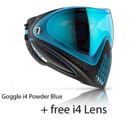 GOGGLE i4 Powder Blue + FREE i4 LENS