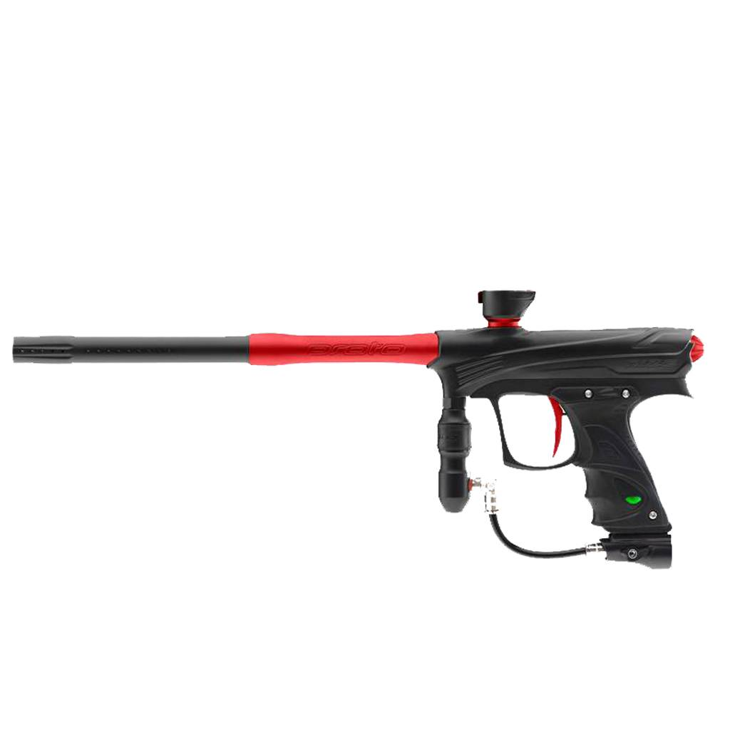 MARKER FOR PAINTBALL – RIZE MAXXED BLACK RED