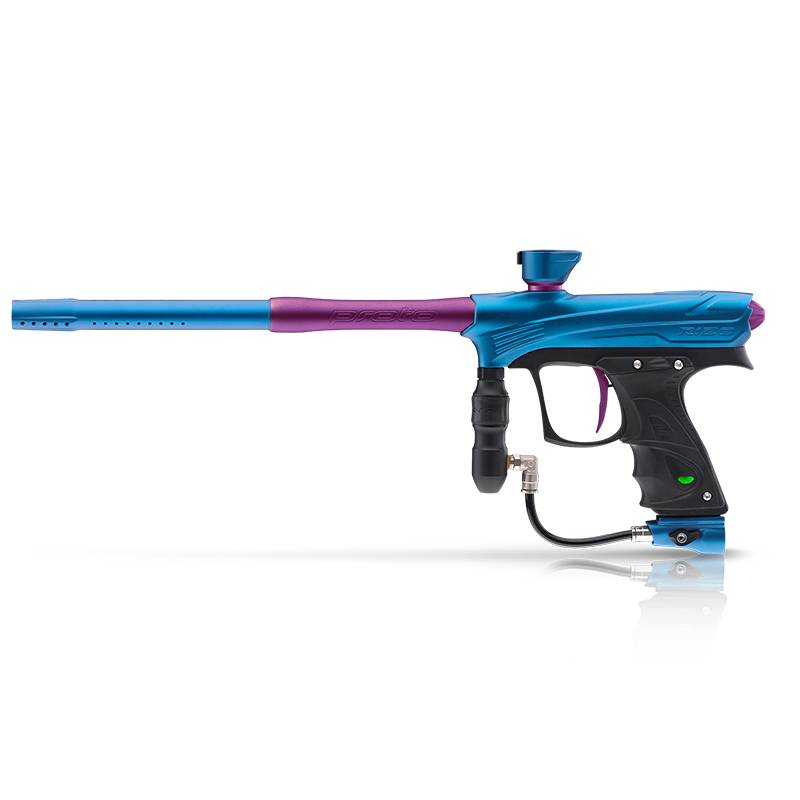 MARKER FOR PAINTBALL – RIZE MAXXED CYAN PURPLE