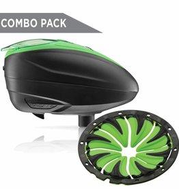 Rotor Loader LT-R Black/Lime + R1 Quick Feed