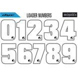 LOADER NUMBER STICKER