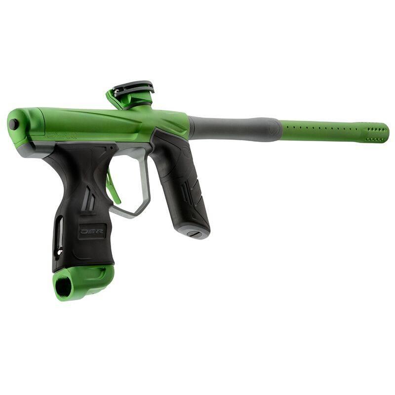 PAINTBALL MARKIERER – DSR GREEN MACHINE / GRÜN GRAU