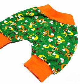 Babyhose / Pumphose, Fuchs, grün, 56, 62, 68
