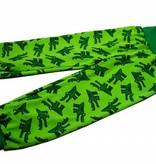 Bunte Kinderhose Krokodil, grün, Gr. 74, 80, 86, 92, 104