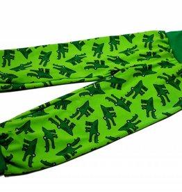 Kinderhose Krokodil, grün, Gr. 74, 80, 86, 92, 104