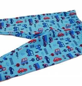 Baby Leggings Autos, blau, Gr. 62, 68, 74