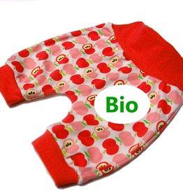 BIO Babyhose / Pumphose, Apfel, rot, 56, 62, 68