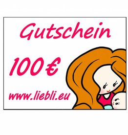 GUTSCHEIN im Wert von 100 Euro