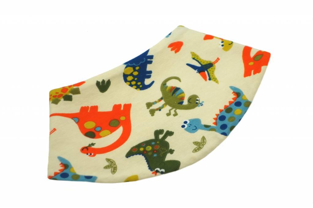 Dreieckstuch Dinos auf beige