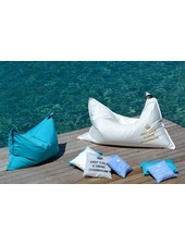 chillisy® Outdoor Lounge cushions 'Maxi' DRINK CHAMPAGNE