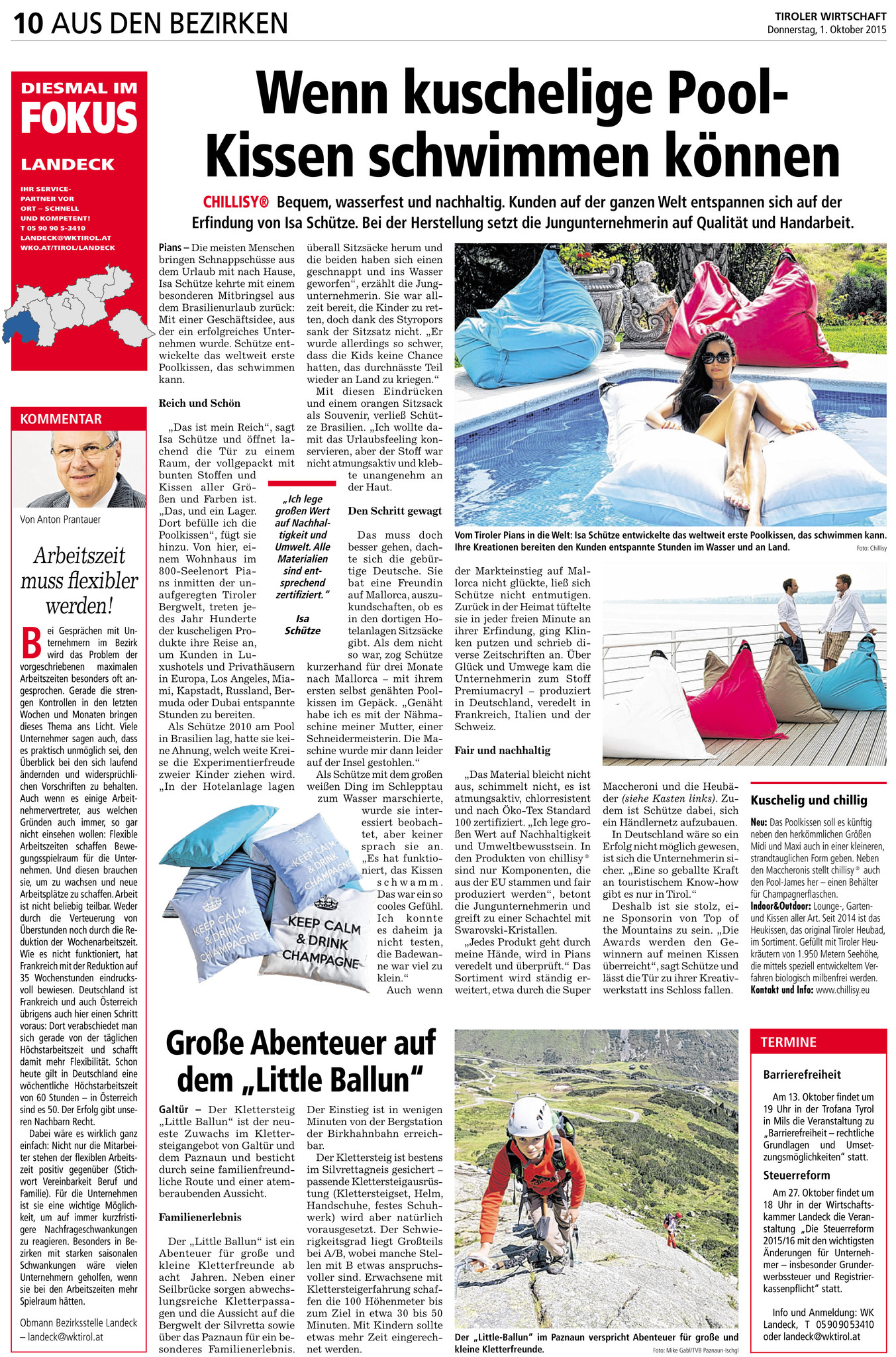 chillisy Press Tyrolean business newspaper