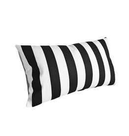 chillisy® Outdoor cushions Yachting II, black and white