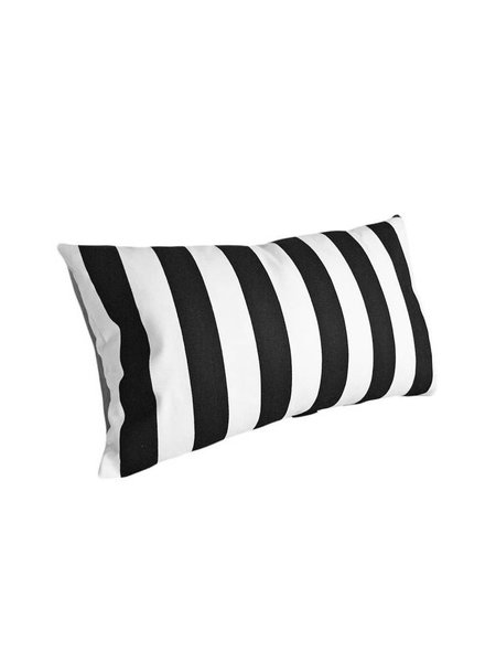 chillisy® Outdoor Kissen Yachting II, schwarz-weiß