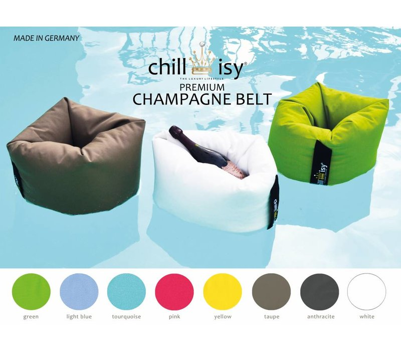 CHAMPAGNE BELT II, swimming champagne cooler