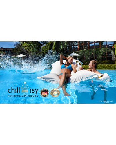 Chillisy® * PREMIUM POOL CUSHIONS * MAXI * 190 x 130 cm