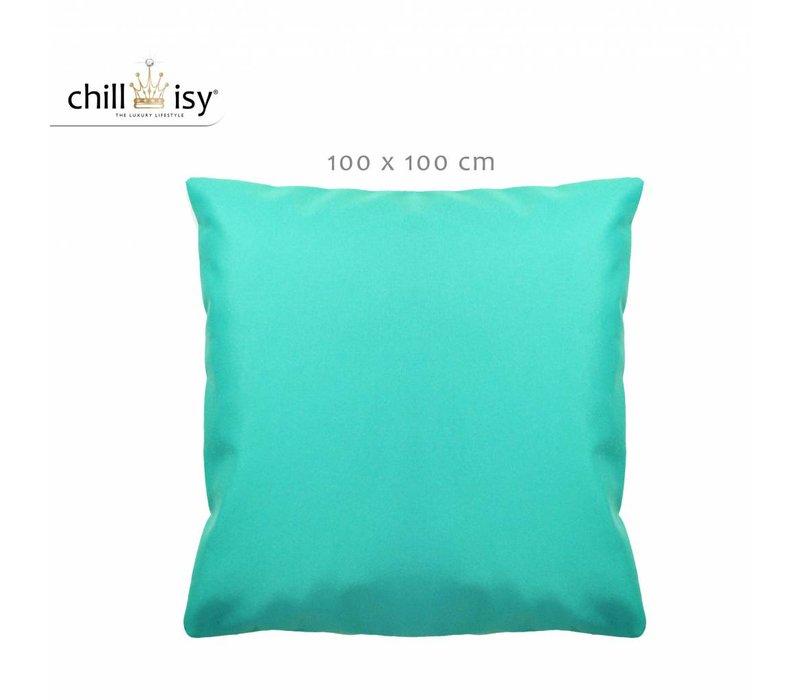chillisy® SUMMERTIME Outdoor Bodenkissen 100x100 cm