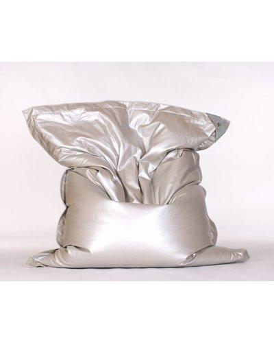 chillisy® Indoor Lounge cushion GLAM, silver