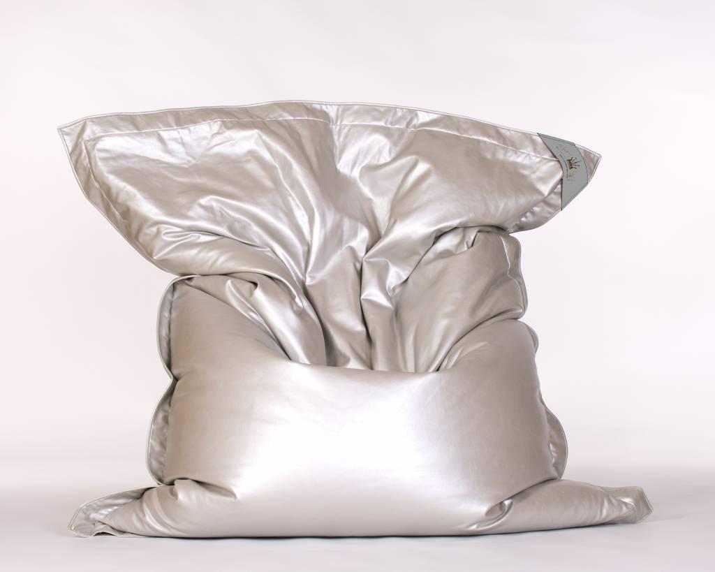 chillisy® Indoor Loungekissen GLAM, silber