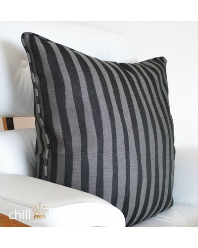 chillisy® Pillow BLACK ZEBRA