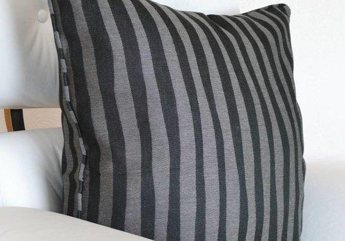 chillisy® Kissen BLACK ZEBRA, schwarz-grau