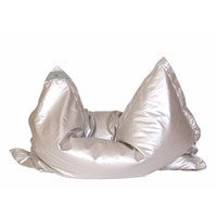 Indoor Lounge cushion GLAM, silver