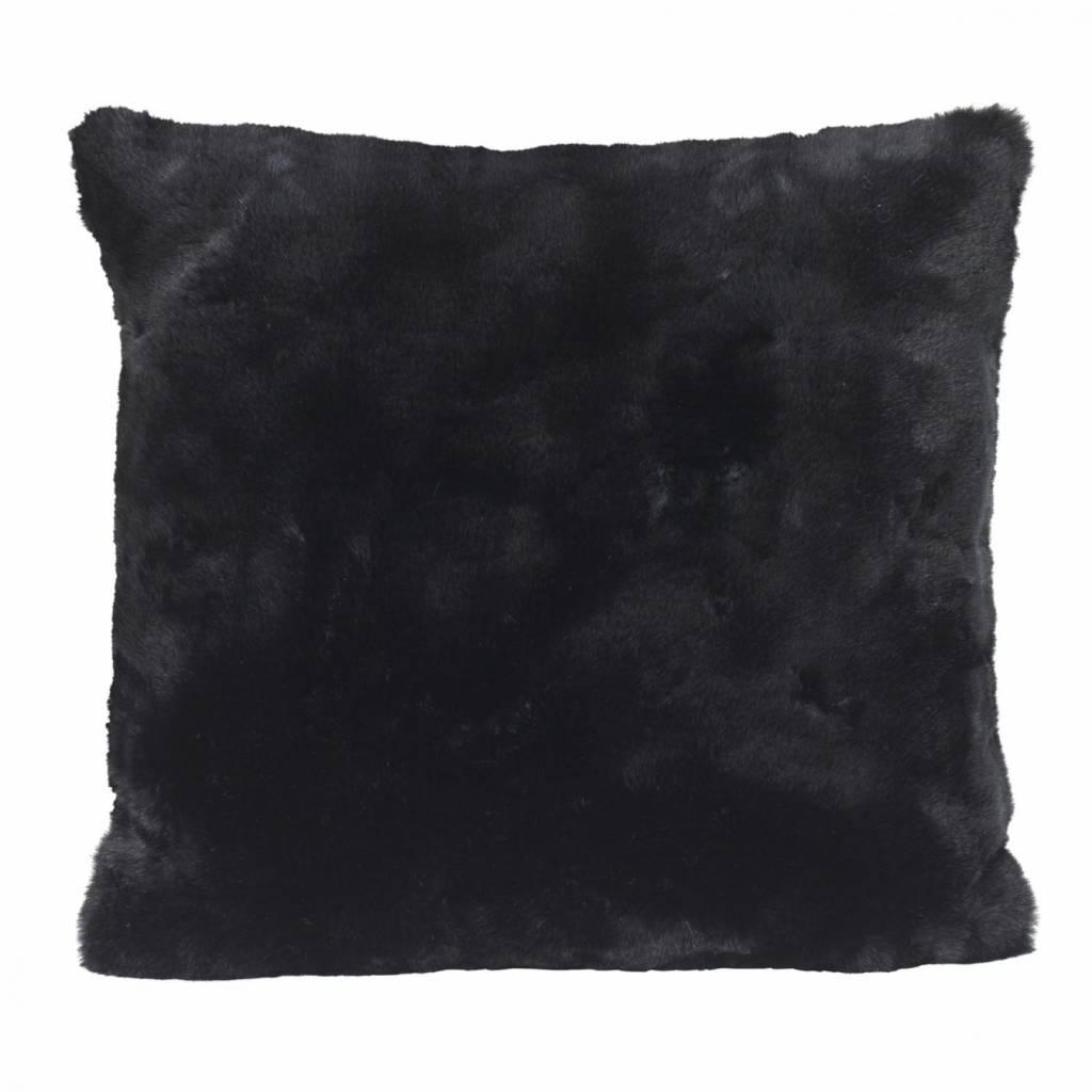 Faux fur cushion, 45x45