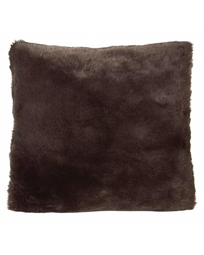 Faux fur cushion, 45x45