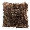 Faux fur cushion, 60x60