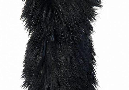 Champagne coat, black