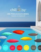 chillisy® Poolkissen > Minis < 100 x 100 cm, 60 x 60 cm