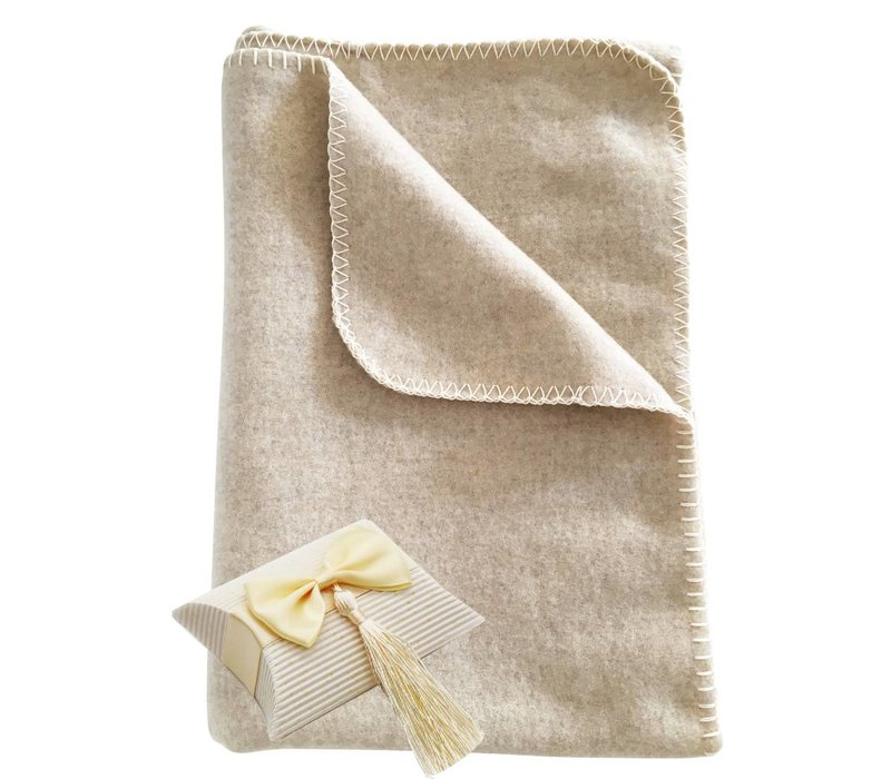Children's blanket MARIE made of 100% cashmere
