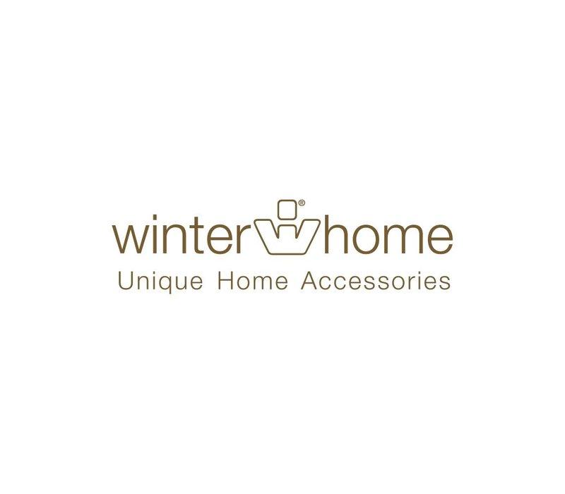 Winter Home Decke Fellimitat Seal Schwarz 140x200 cm