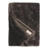 Winter Home Decke Fellimitat Seal Heiße Schokolade 140x200 cm