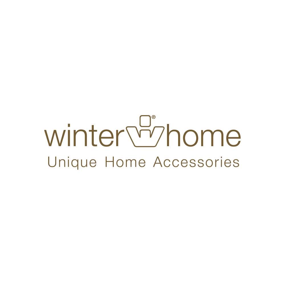 Winter Home 4er Set Sitzpolster - Winter Home Fellimitat Schaffell Midnightwolf 40x40 cm