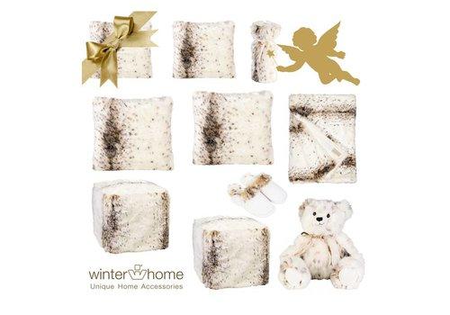 Winter Home Weihnachtsset Lynx - 11 teilig  - Fellimitat Winter Home