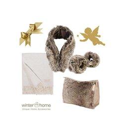 Winter Home Weihnachtsset Yukonwolf Kaschmir - 6 teilig - Fellimitat Winter Home