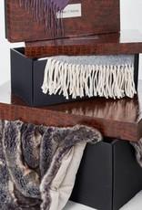 Winter Home Plaid Kyra anthrazit 150 x 200 cm