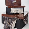 Winter Home Plaid Kyra - lime 150 x 200 cm