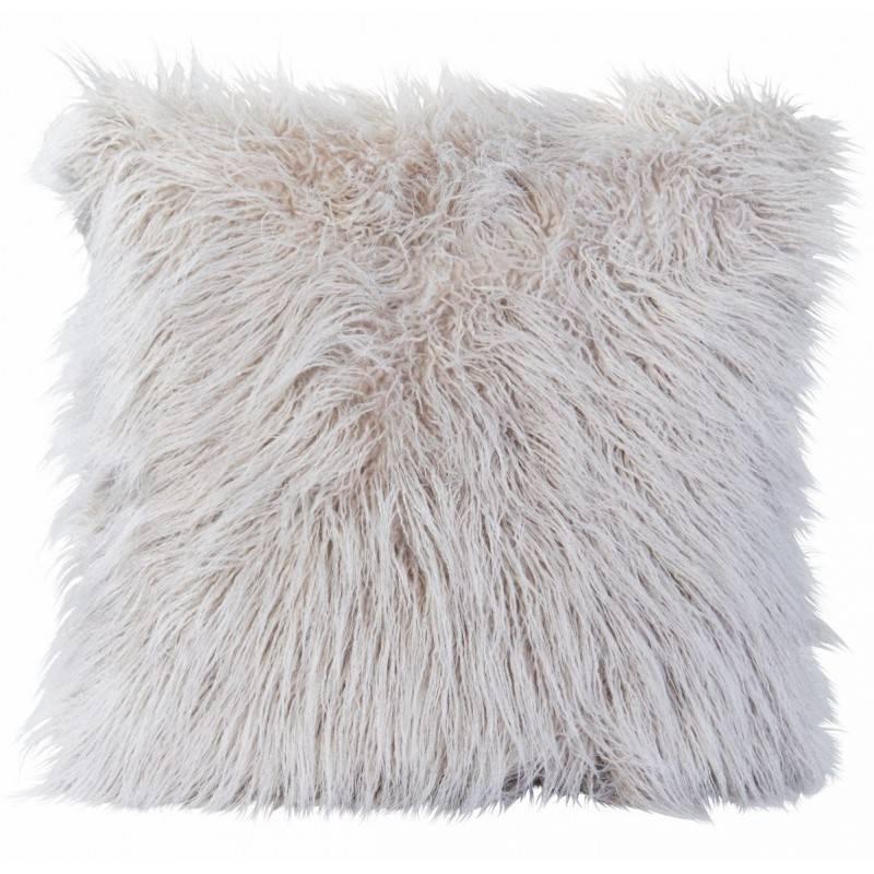 Winter Home Curlysmoke Full Fur  Kissen im 2er Set, 45 x 45 cm
