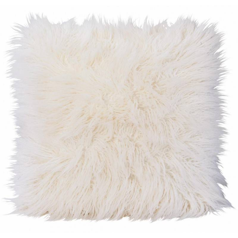 Winter Home Curlywhite Full Fur  Kissen im 2er Set, 45 x 45 cm