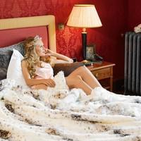 Lynx Full Fur  Kissen im 2er Set, 45 x 45 cm