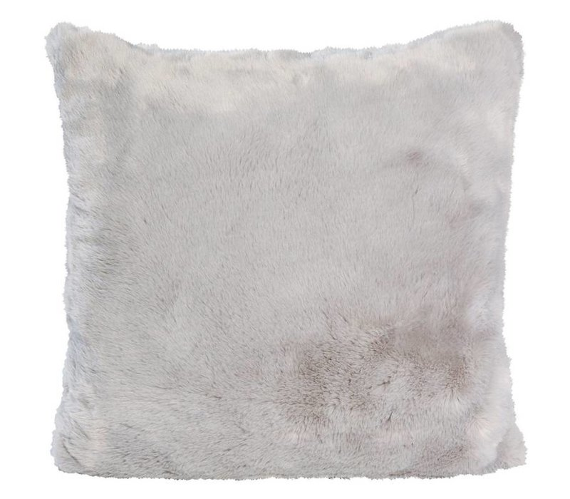 Seal Grey Full Fur  Kissen im 2er Set, 45 x 45 cm